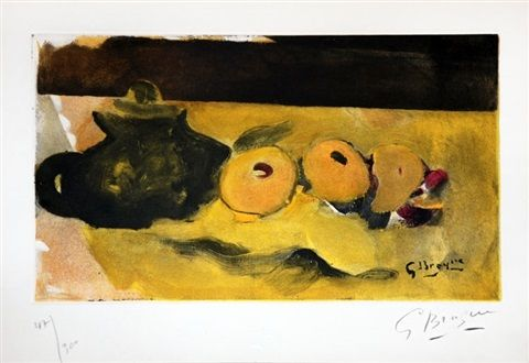 La Nappe Jaune (The Yellow Tablecloth) by Georges Braque