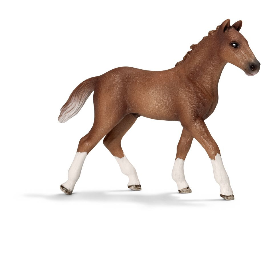 Hanoverian Foal Schleich Figurine Available At Fantaztic Learning
