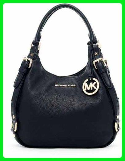 731912b22c3f Michael Kors Large Bedford Black Leather Shoulder Tote Satchel - Top handle  bags ( Amazon Partner-Link)