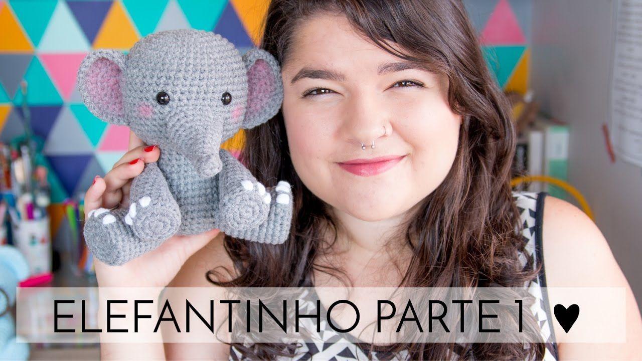 Crochet Impossible - Amigurumi Elephant PART 1 (LEFTIE) - YouTube   720x1280