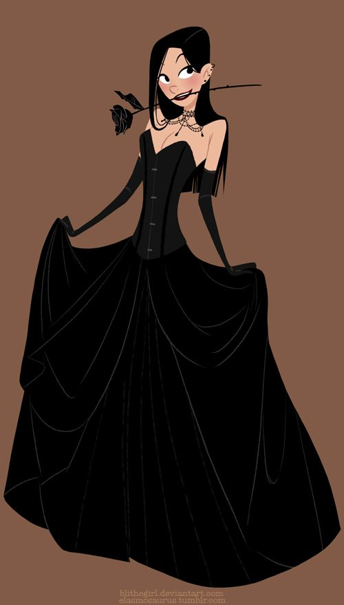 57088e394f5 Black Dress by ~Blithegirl on deviantART