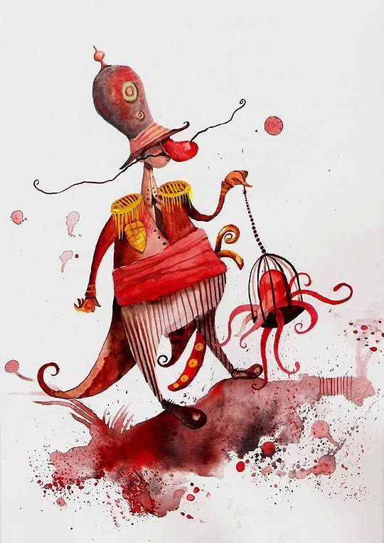 Ilustración infantil de DANIEL MONTERO GALÁN