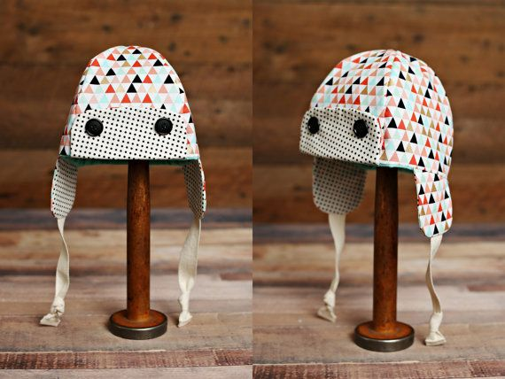 Girls Fall/Winter Hat by TribeFive on Etsy