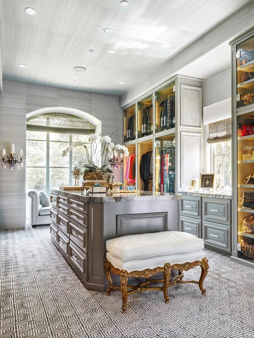 Luxury Closet Dallas | Modern Luxury | The Couture Closet LLC