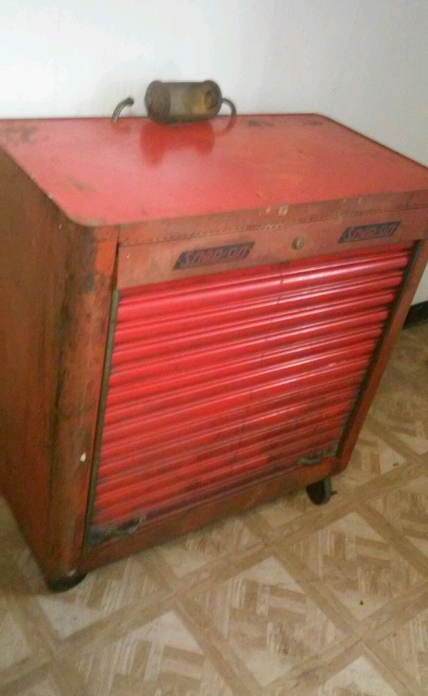 1942 Snap On K300 Quot Rolla Bench Quot Tool Box Lighted Snapon