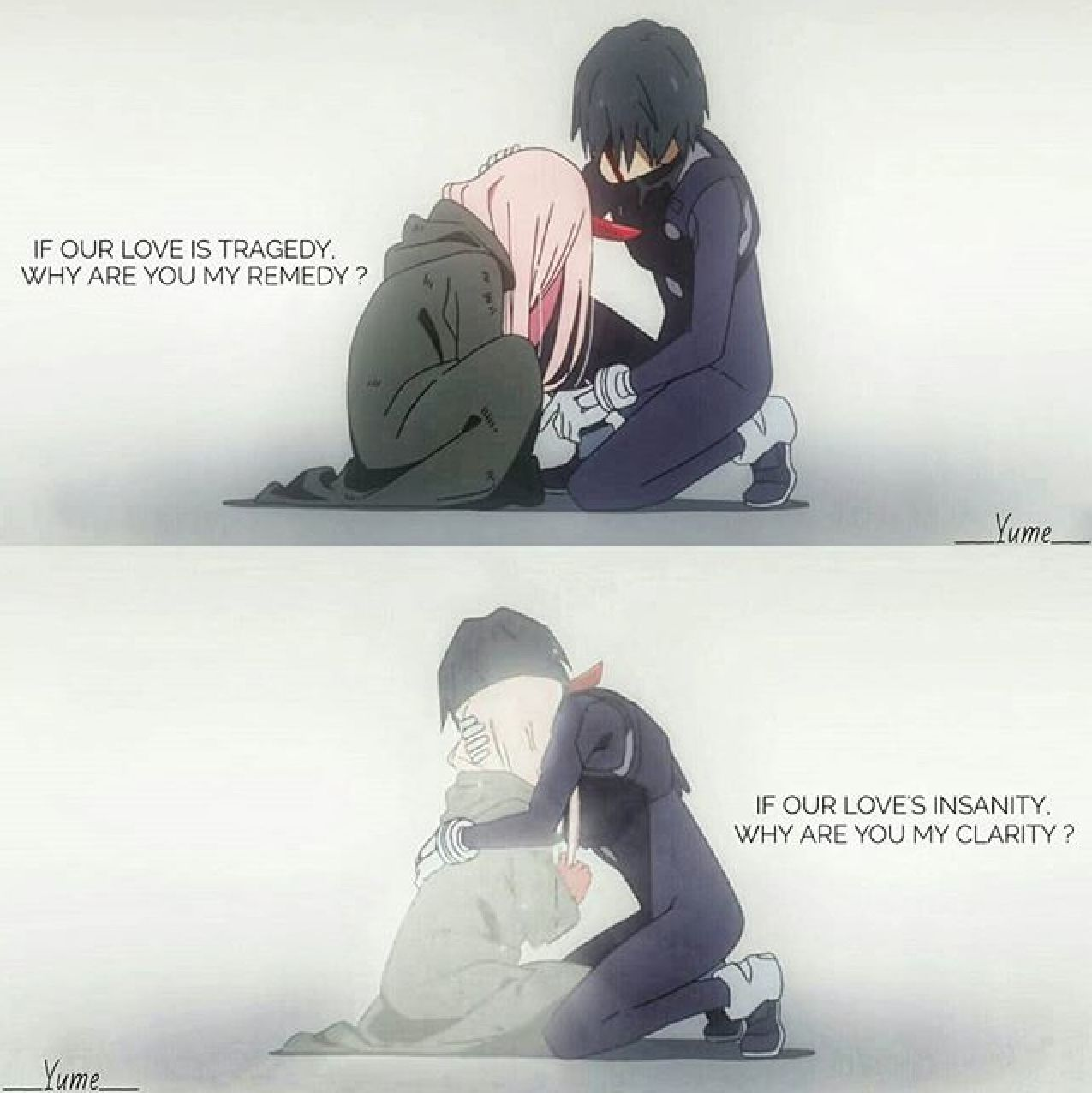 Pin by •Aoi_Blue• 💙 on Darling In The Franxx | Darling in ...