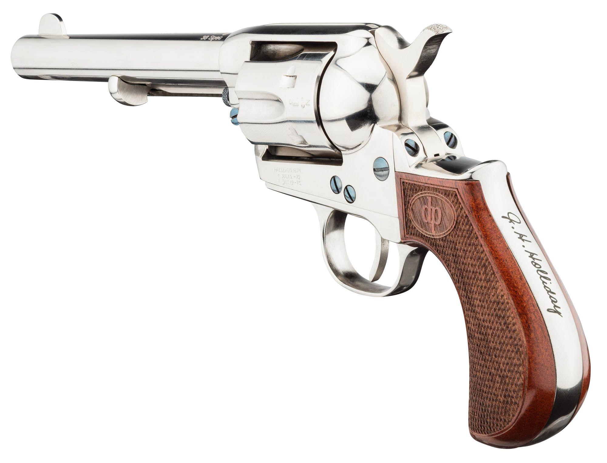 Revolver Doc Holliday cal  38 Spécial - Davide PEDERSOLI & C