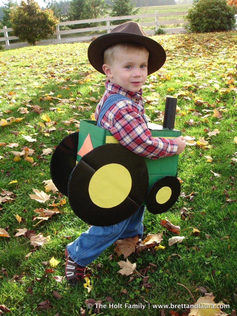 john deere tractor halloween costume | halloween | pinterest