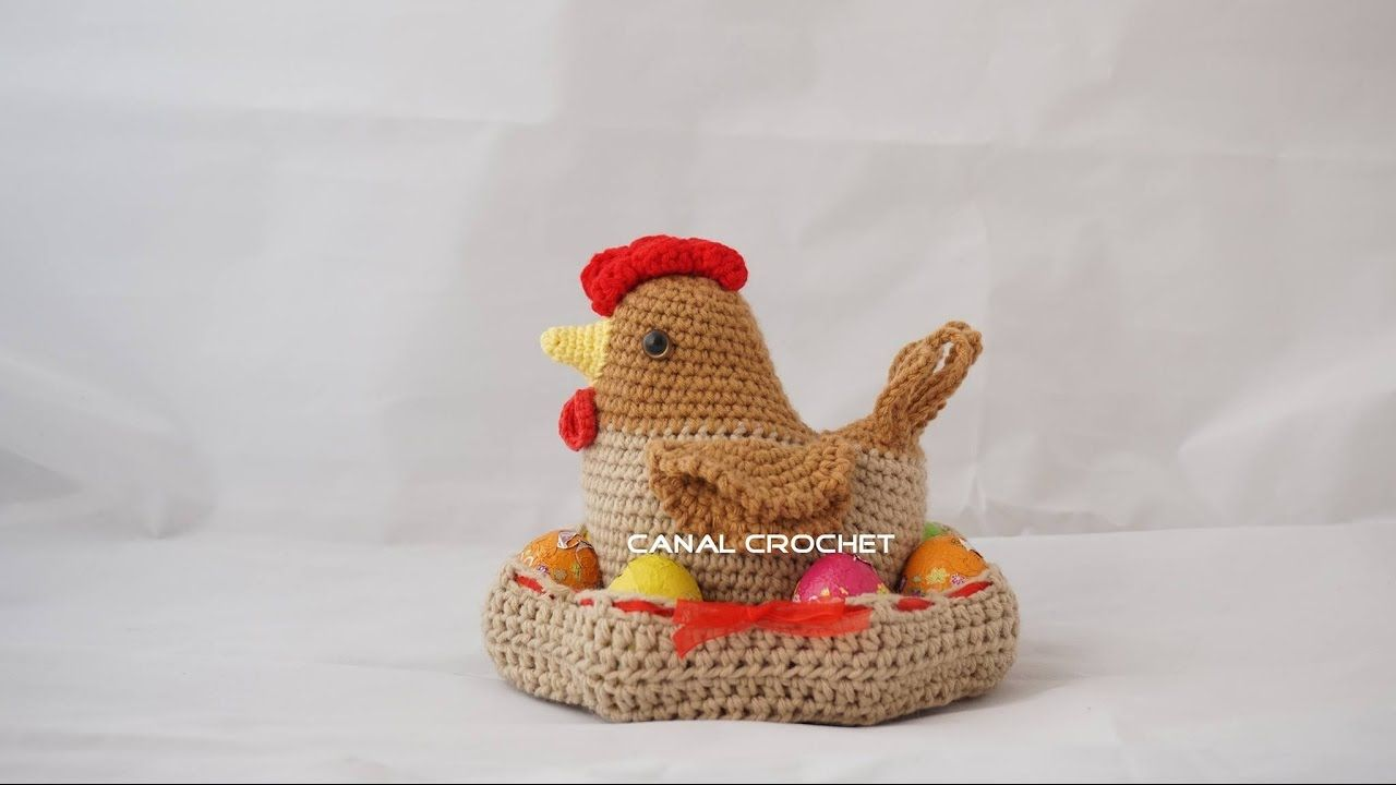 Gallina amigurumi tutorial | CROCHET | Pinterest | Croché, Ganchillo ...