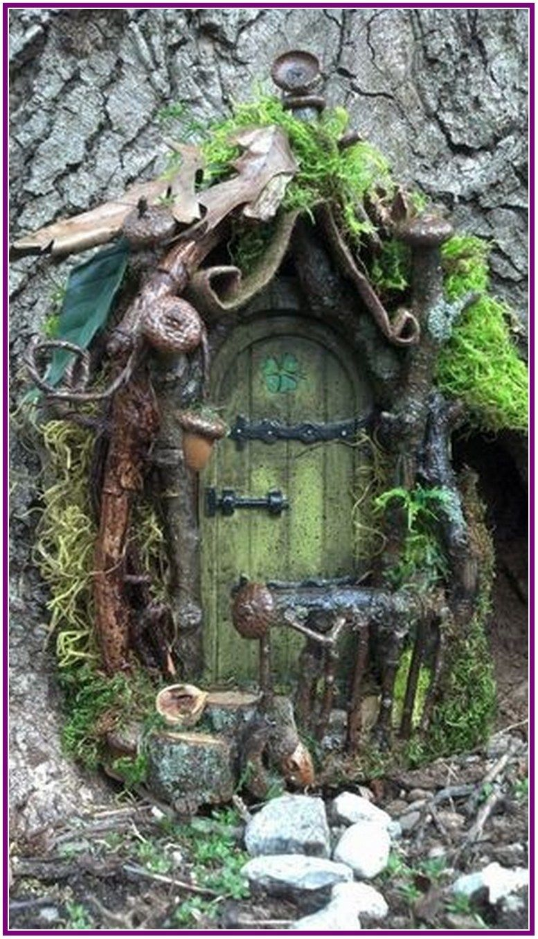 26+ creative diy fairy garden ideas 00007 is part of Fairy garden doors - 26+ creative diy fairy garden ideas 00007