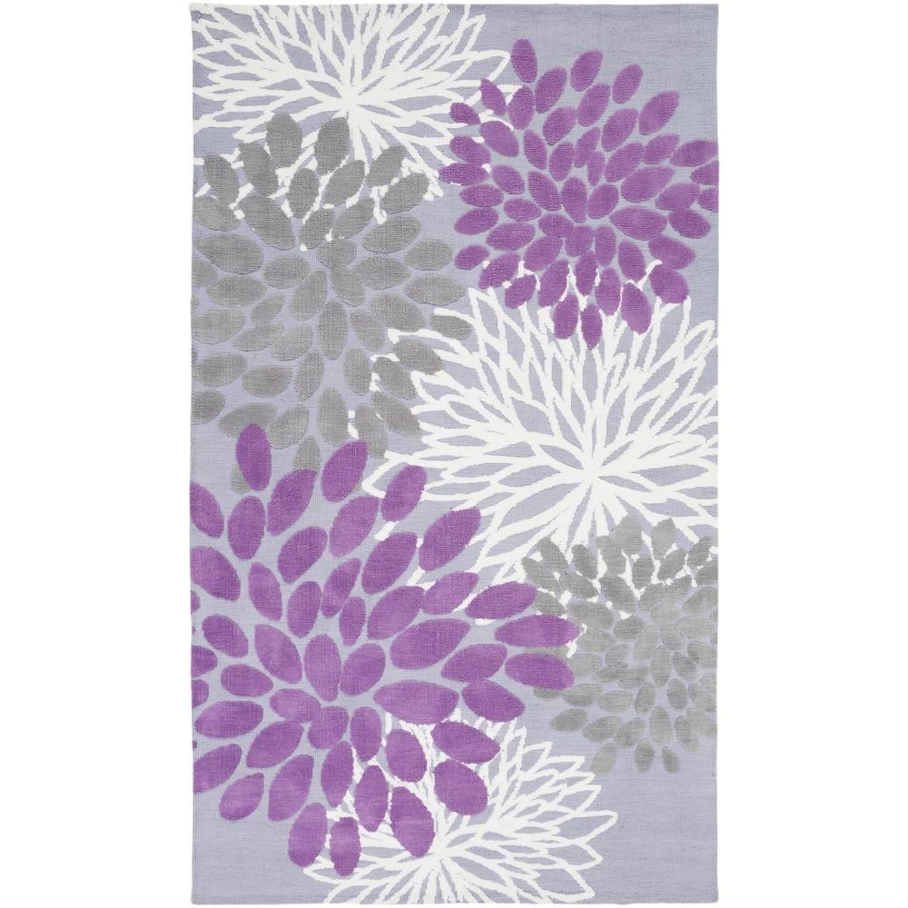 Artistic Weavers Charming Orchid 5 Ft X 8 Indoor Area Rug S00151000366