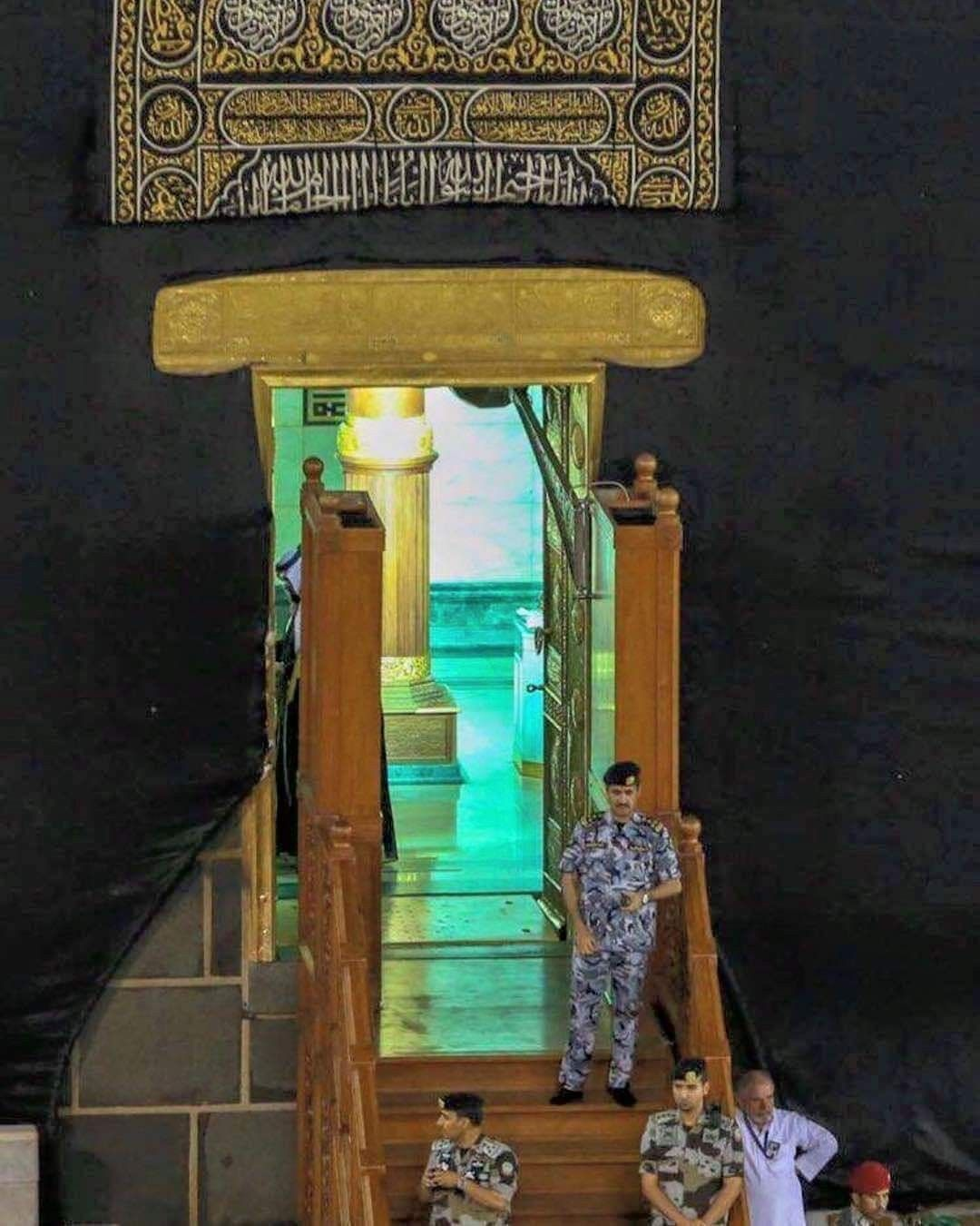 فتح باب الكعبة المشرفه اللهم زد هذا البيت تعظيما و تشريفا Islamic Pictures Candle Sconces Wall Lights