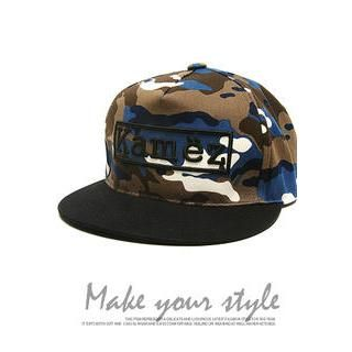 Buy 'HOTBOOM – Camouflage Baseball Cap' with Free International Shipping at YesStyle.com. Browse and shop for thousands of Asian fashion items from South Korea and more!