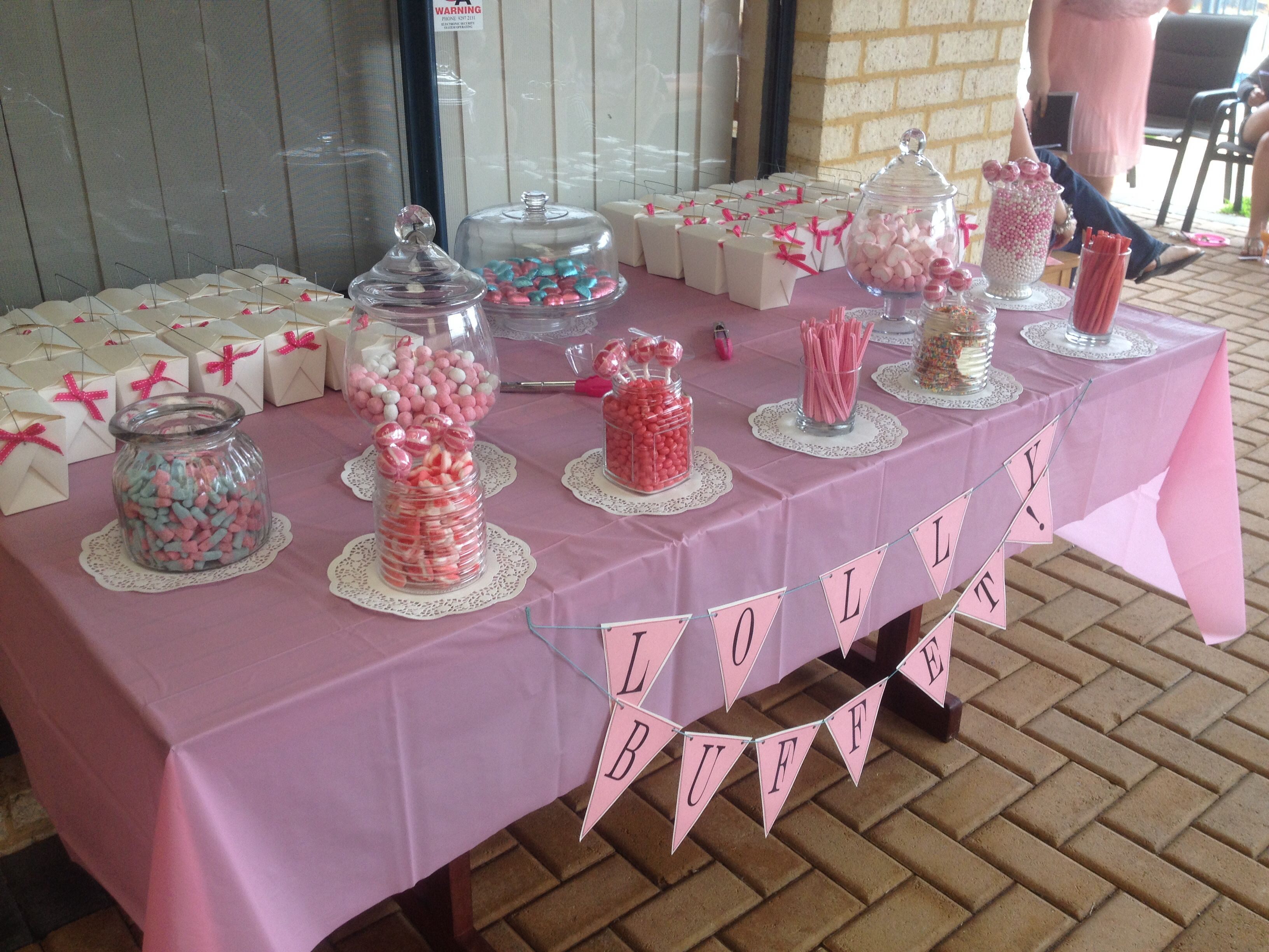 Baby Shower Lollies ~ Baby shower lolly buffet mini pinny pinterest