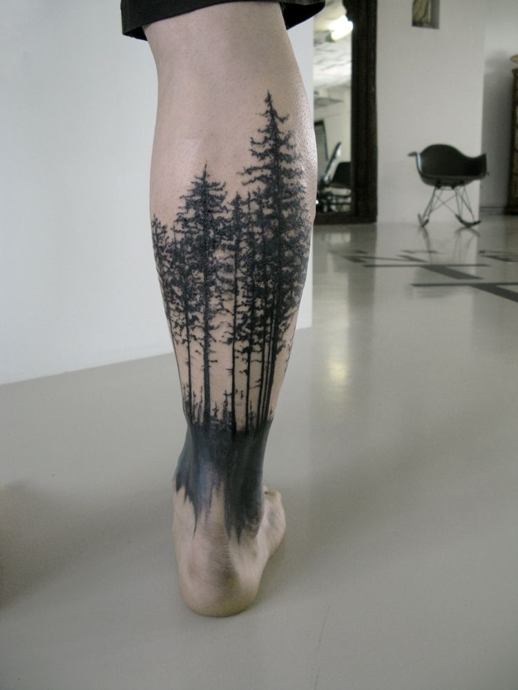 forest tattoo f r nils tattoo pinterest tattoo. Black Bedroom Furniture Sets. Home Design Ideas