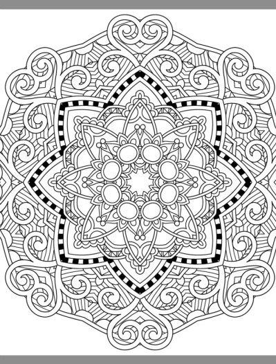 pretty pages for adults to color web | doodles | Pinterest | Colores ...