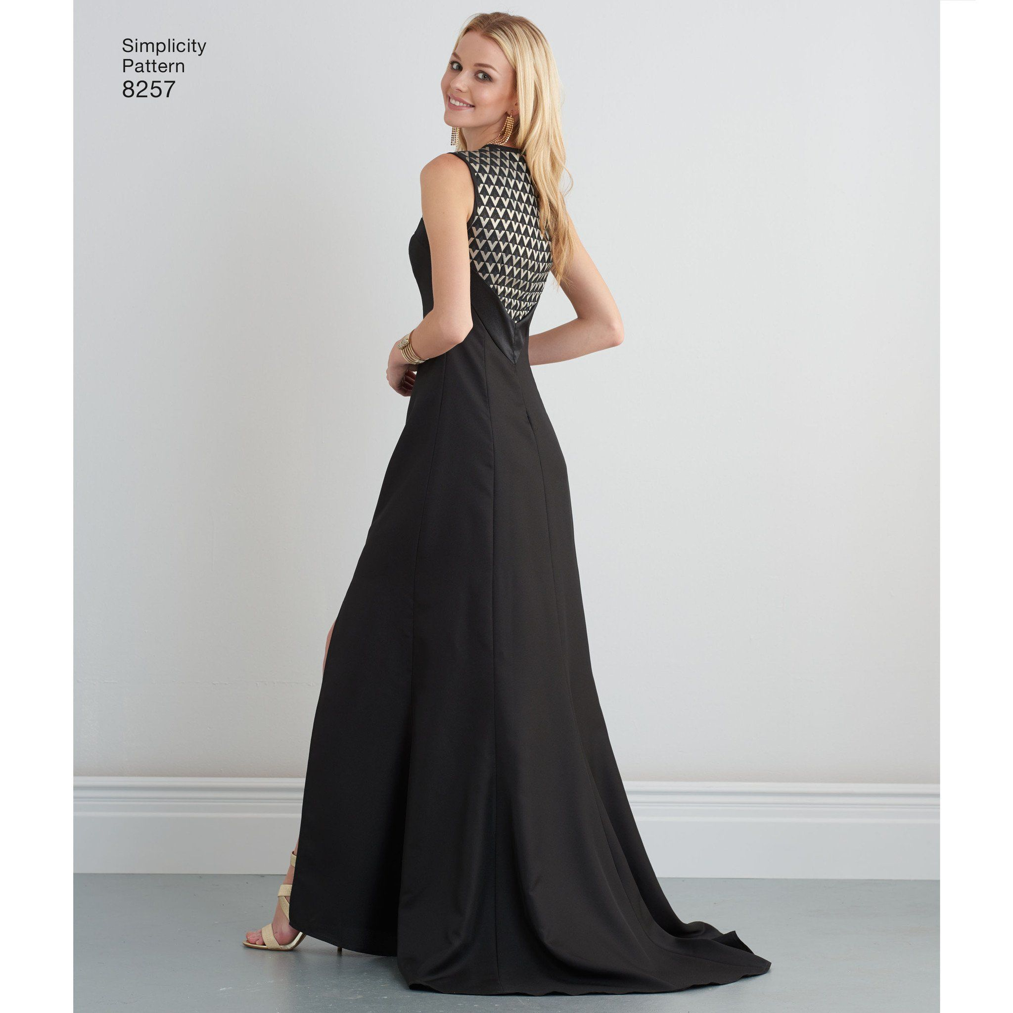 S8257 Misses\' Special Occasion Dresses and gown Simplicity Pattern ...