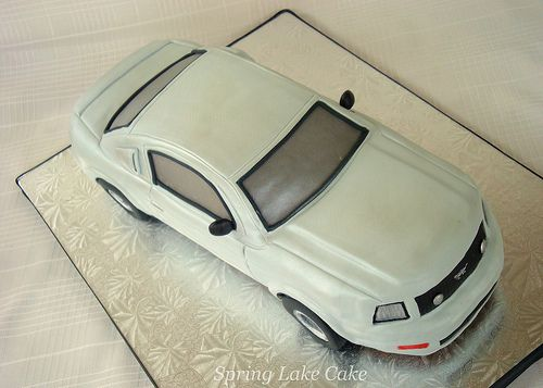 Mustang Grooms Cake Cake Car cakes and Amazing cakes