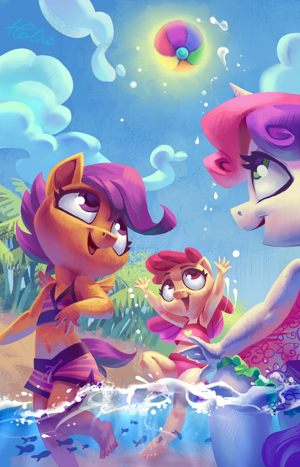 Scootaloo Apple Bloom Sweetie Belle All As Partial Humans Drawing By Holivi Devian My Little Pony Games My Little Pony Wallpaper My Little Pony Pictures A bad drawing of scootaloo from my little pony friendship is magic.enjoy. pinterest