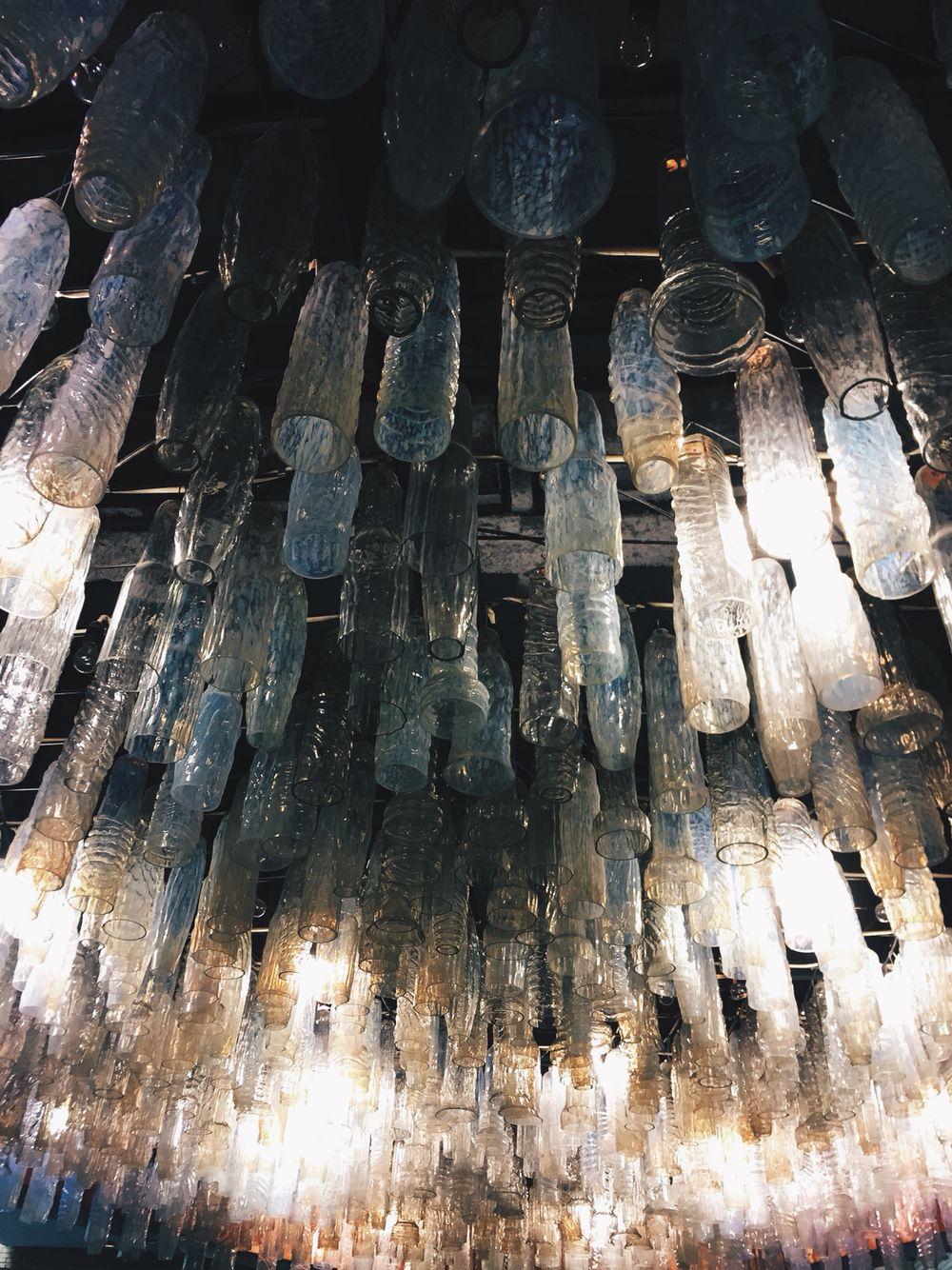 chandeliers or lamp in museum of archeology  Nice glass  археологический музей в Москве и его шикарное оформление