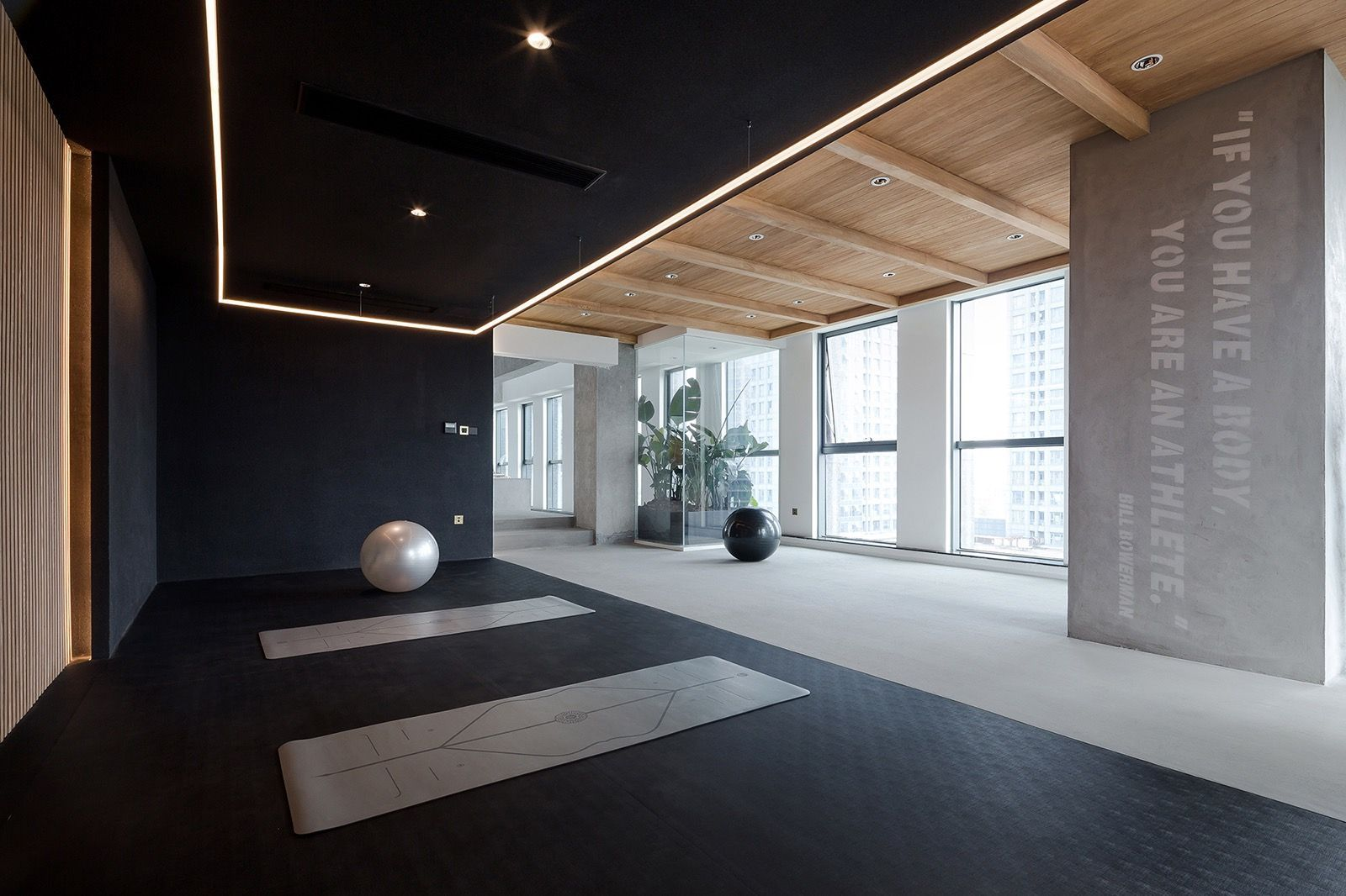 A Tour Of Tkstyle S Super Sleek Office In Jiaxing Home Gym