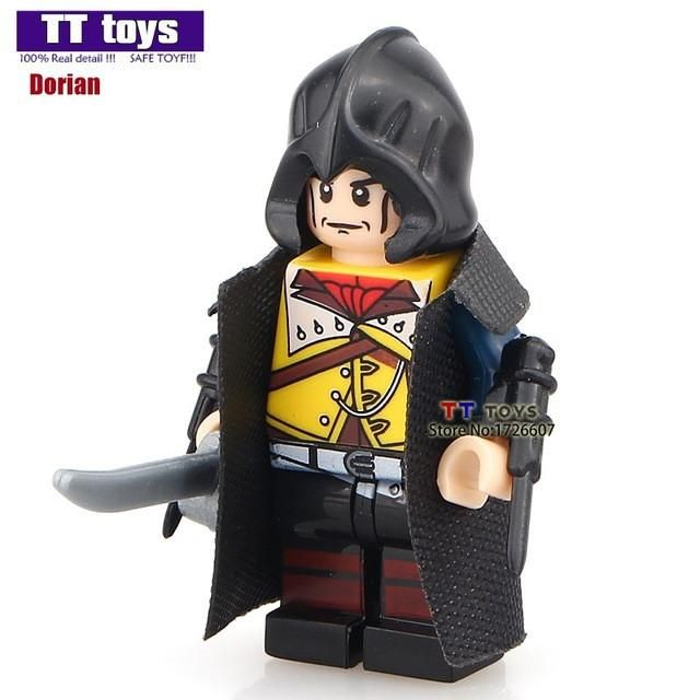 Single Sale PG947 Firenze Assassin's Creed Dolls Custom Hunter Figure Class Building Block Best Children Toy