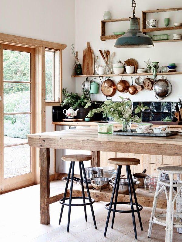 Cocinas con estilo country chic | Con estilo, Cocinas y Estilo