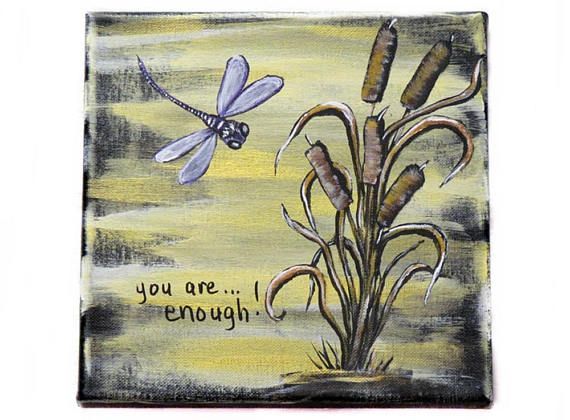 Inspirational Word Art Inspirational Wall Decor Dragonfly ...