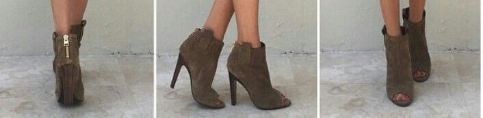 Tom Ford open toe boots