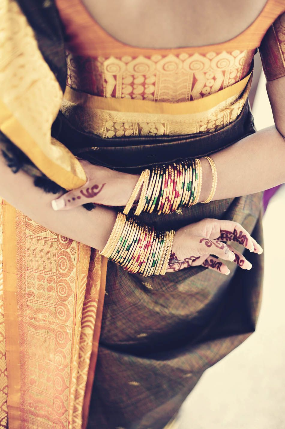 Indian silk traditional and breath taking ethnic earthy