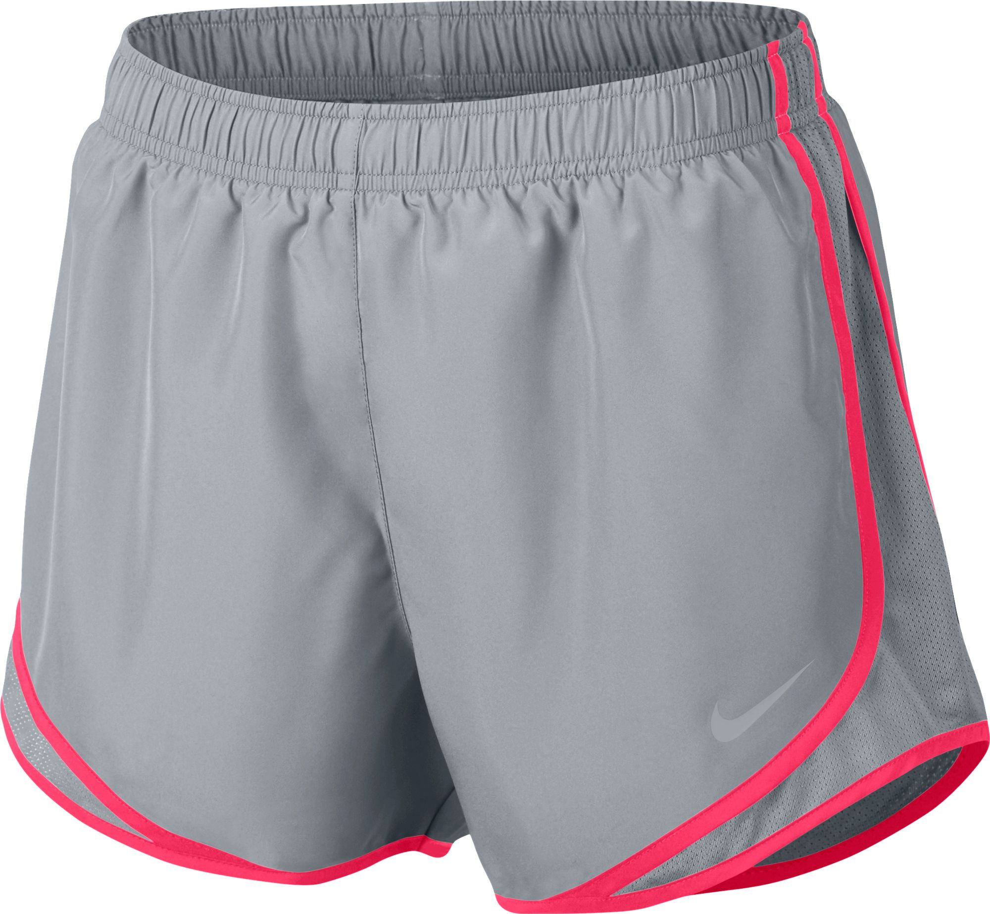 9df3bd159f8b1 Nike Women s Nike Dry Tempo Running Short (Wolf Gray Racer Pink, Size X