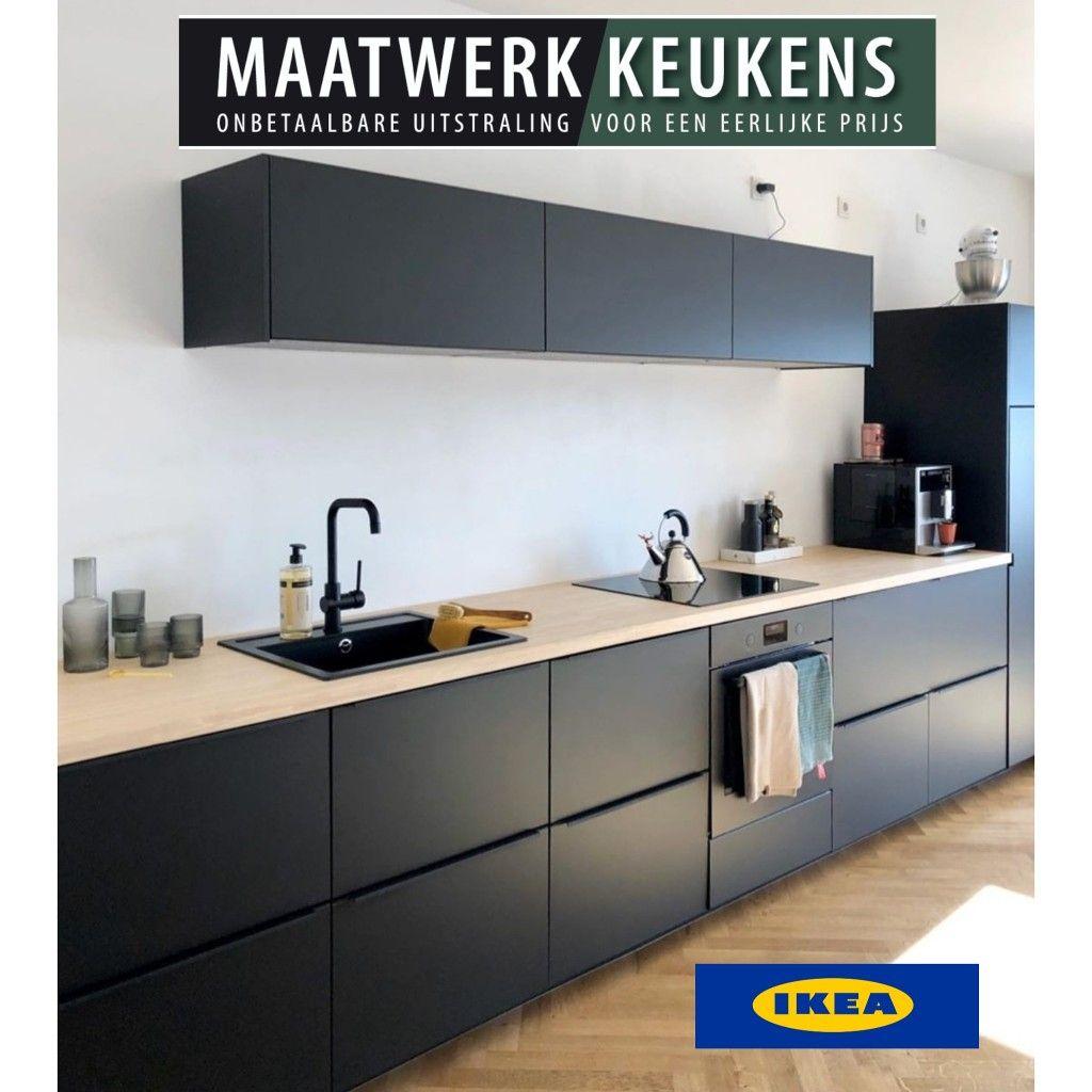 Ikea Keuken Met Maatwerk Deuren Ikea Keuken Keuken Compleet Ikea