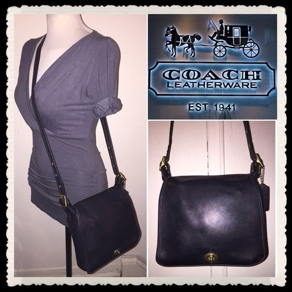 Spotted while shopping on Poshmark  Vintage Coach Flap Leather Shoulder  Stewardess Bag!  poshmark 4420ac49b4