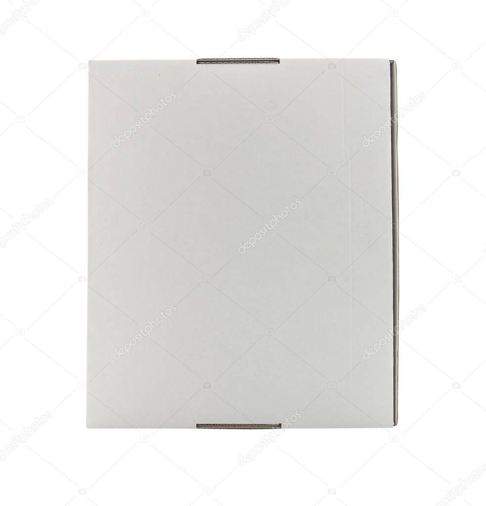 Blank Box White Background  Stock Photo