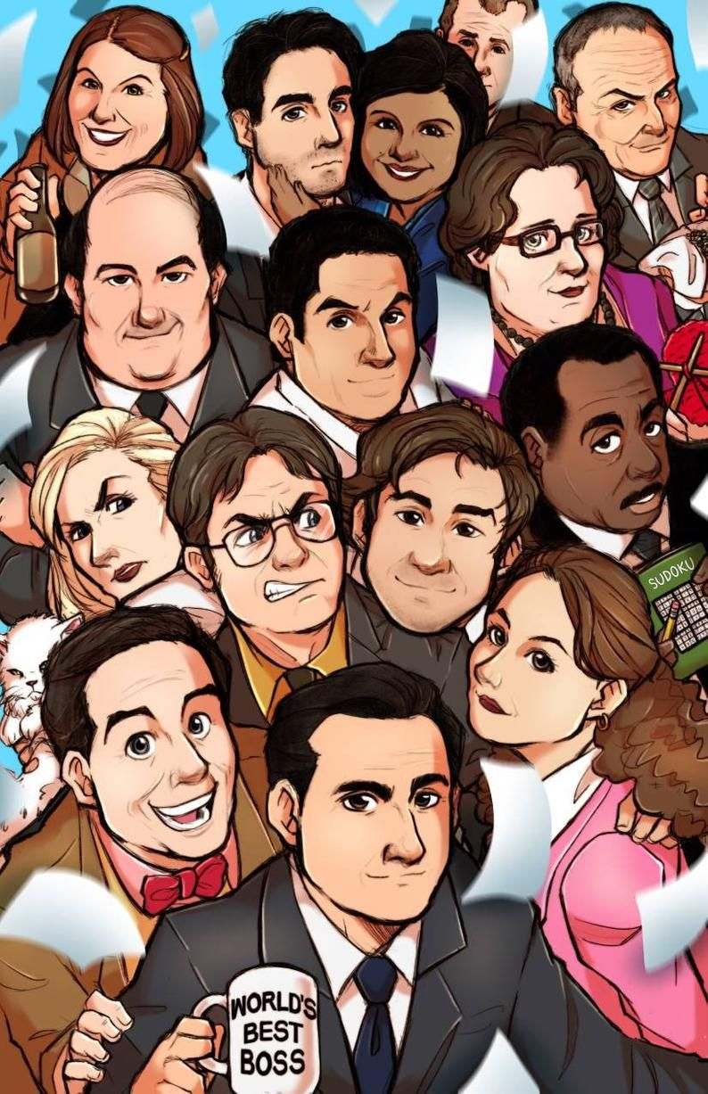 The Office Print Pre Order In 2020 The Office Show The Office Characters Office Memes