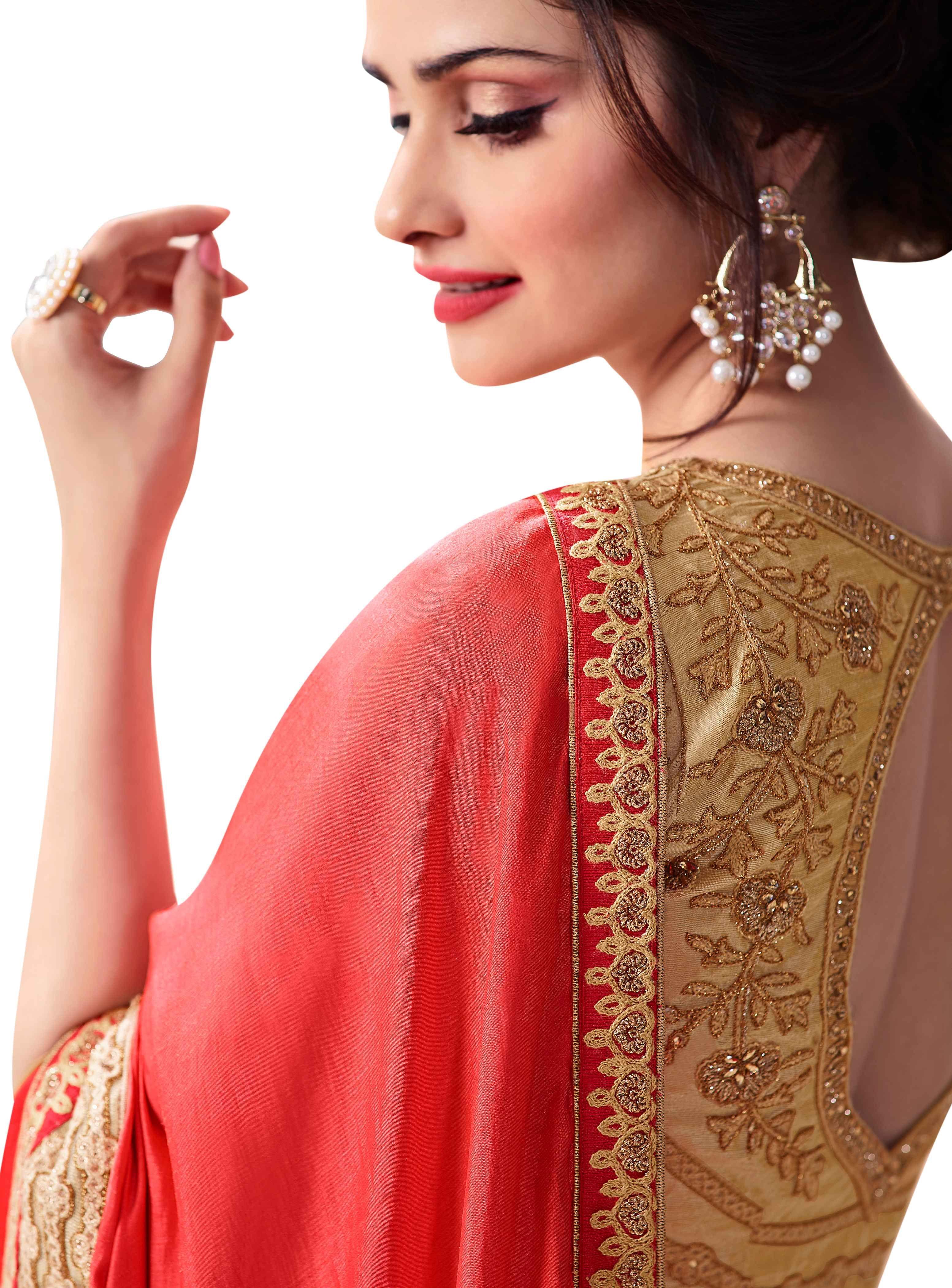 Party Wear Saree Blouse Design Blouse Designs High Neck Blouse Designs Silk Blouse Designs Latest
