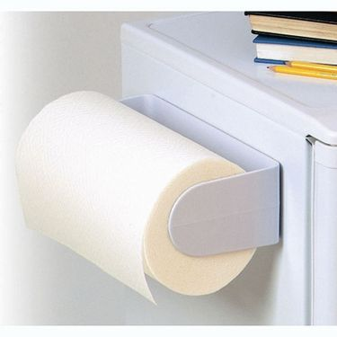 Awesome Magnetic Paper Towel Holder Rack : Kitchen Fridge Paper Towel Holders