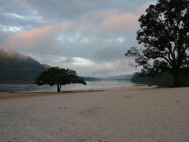 In the middle of nowhere... El Playón, Rio Caura, Venezuela. Most amazing trip ever.