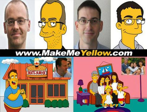 Http Lookingyellow Com Simpson Yourself Simpsons Characters A Cartoon Simpson