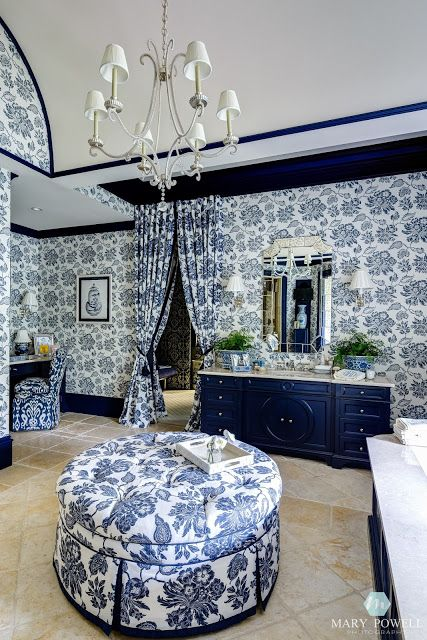 Robin's Nest: Wallpaper Inspired Rooms {from the 2015 Atlanta Symphony Showhouse and Gardens}