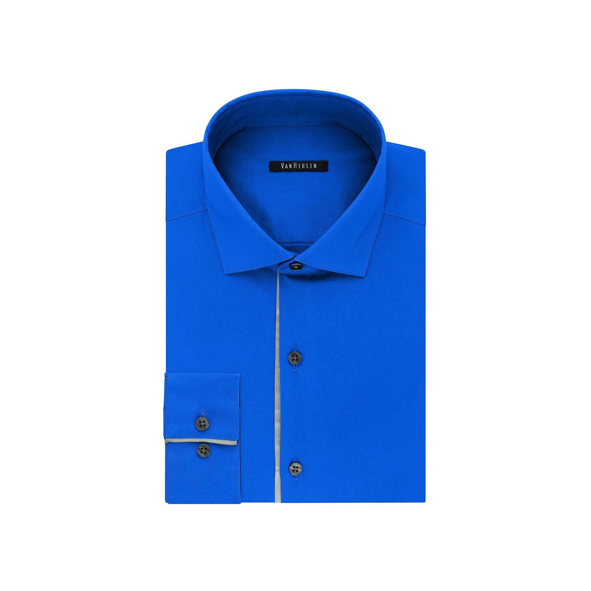 Mens Van Heusen Slim Fit Flashfx Dress Shirt Products Slim