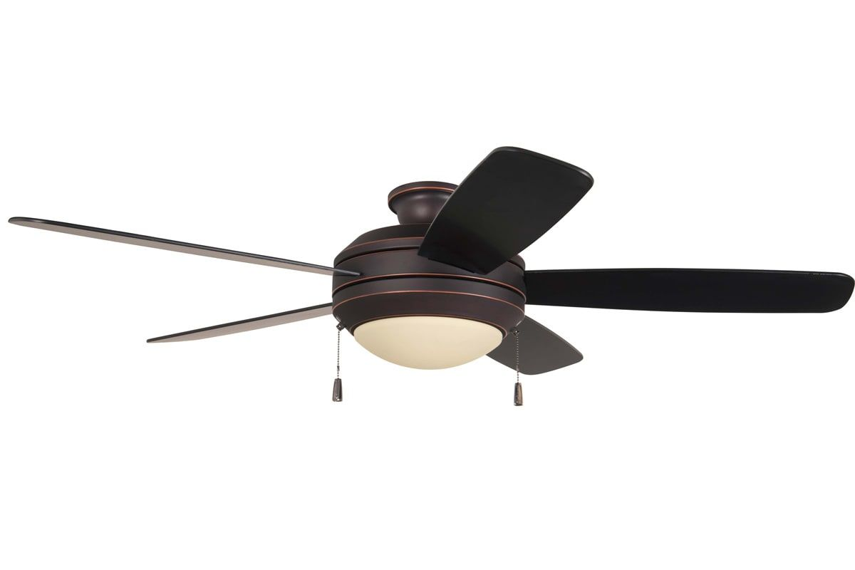 """Craftmade HE525-CFL Helios 52"""" 5 Blade Ceiling Fan - Blades and Light Kit Includ Oiled Bronze Gilded Fans Ceiling Fans Indoor Ceiling Fans"""