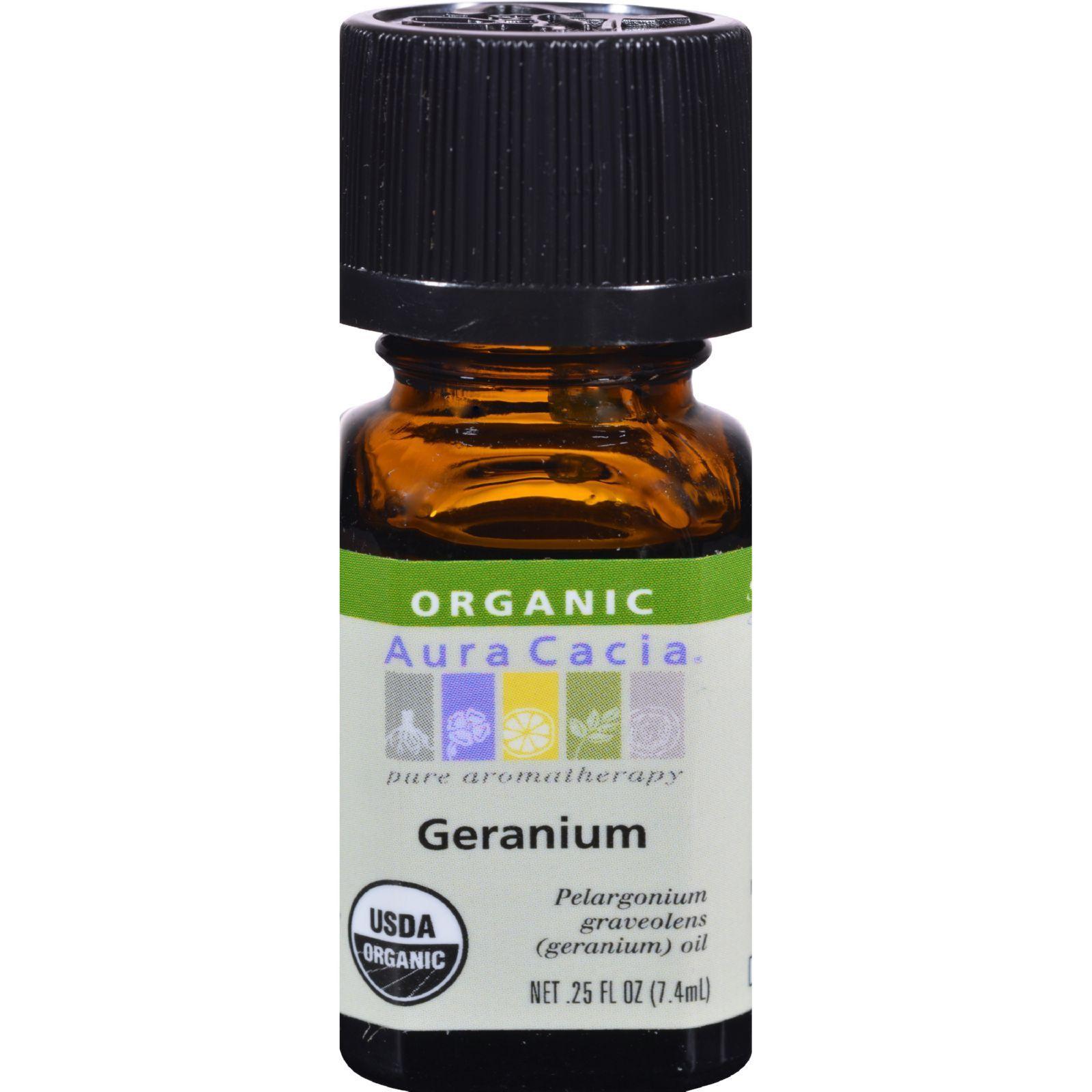 Aura Cacia Organic Geranium 25 Oz Essential Oils Rosemary Organic Essential Oils Organic Oregano Oil