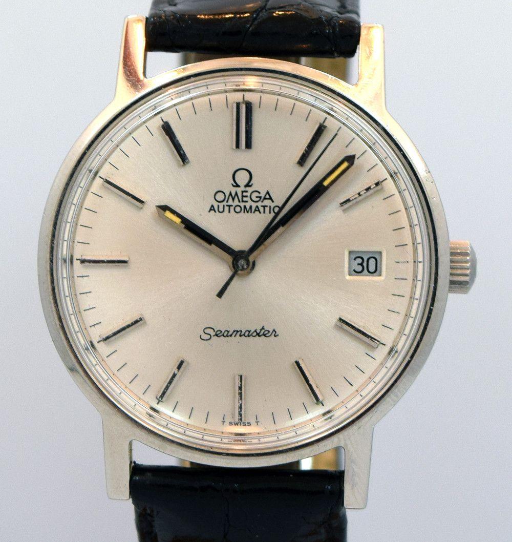 1973 Vintage Omega Seamaster Ref 166 0163 Omega Vintage Omega Omega Seamaster