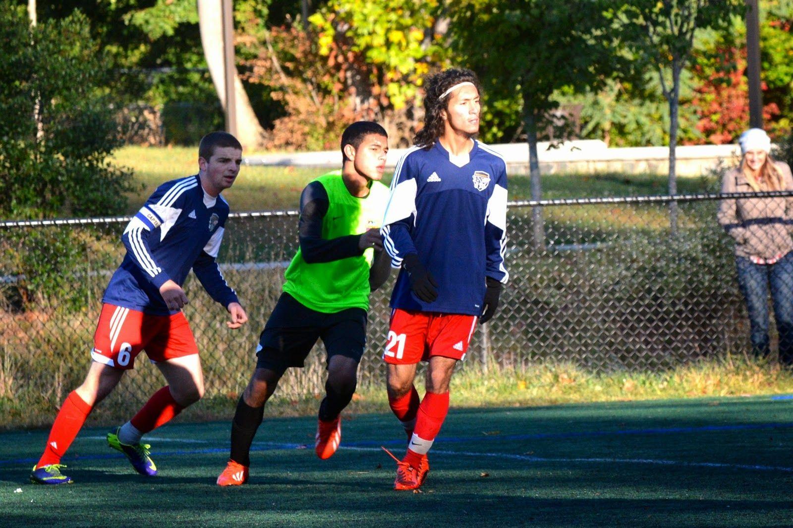 Team America 96 (TAFC96) vs BFC Barca 96 Elite (NCSL U18/U19 Division 1, October 5, 2014) -Brodie Edgerton #6, Maurice Martinez #21