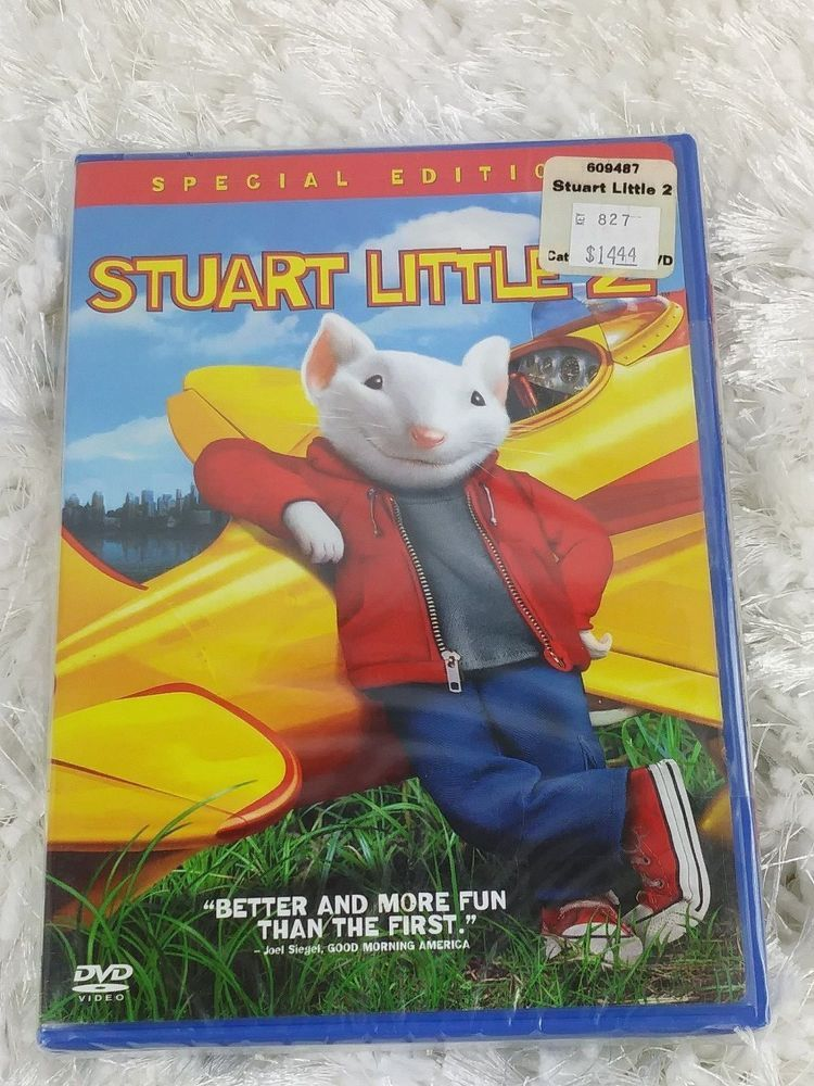 Stuart Little 2 Dvd 2002 Widescreen Full Screen Brand New Sealed Columbiapictures Stuart Little 2 Stuart Little Anime Dvd