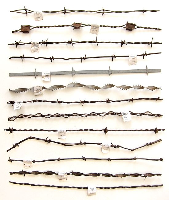 Different types of Barbed Wire | Construction Techniques ...