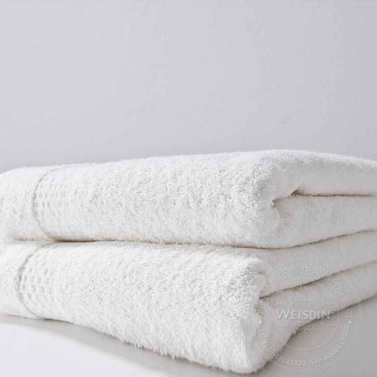 100 Cotton Solid Dobby Towel Hotel Towel Wholesale Beach