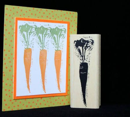 carrot rubber stamp - Google Search