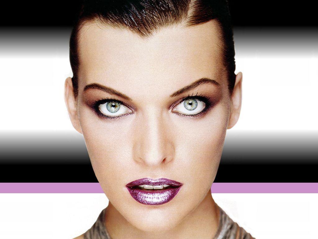 Mg mila jovovich makeup pinterest milla